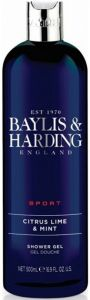 BAYLIS & HARDING MEN SPORT CITRUS LIME & MINT SHOWER GEL DOUCHEGEL FLACON 500 ML