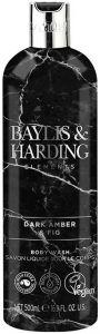 BAYLIS & HARDING DARK AMBER & FIG BODY WASH DOUCHEGEL FLACON 500 ML
