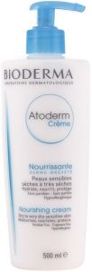 BIODERMA ATODERM CREME NOURISHING CREAM BODYCREME POMP 500 ML
