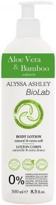 ALYSSA ASHLEY BIOLAB ALOE VERA & BAMBOO BODY LOTION POMP 300 ML