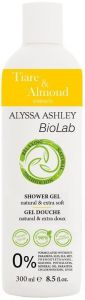 ALYSSA ASHLEY BIOLAB TIARE & ALMOND SHOWERGEL DOUCHEGEL FLACON 300 ML