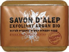 ALEPPO SOAP EXFOLIANT ARGAN BIO ZEEP 100 GRAM