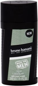 BRUNO BANANI MADE FOR MEN HAIR & BODY SHOWER DOUCHEGEL FLACON 250 ML