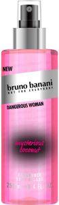 BRUNO BANANI DANGEROUS WOMAN BODY MIST SPRAY 250 ML