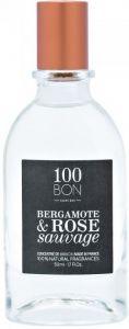 100BON BERGAMOT & ROSE SAUVAGE CONCENTRATE EDP (REFILLABLE) FLES 50 ML