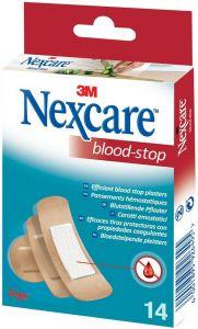 3M NEXCARE BLOOD-STOP PLEISTERS DOOSJE 14 STUKS