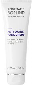 ANNEMARIE BORLIND ANTI-AGING HAND CREAM HANDCREME TUBE 75 ML