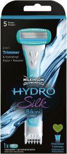 WILKINSON SWORD HYDRO SILK BIKINI SCHEERSYSTEEM + 1 SCHEERMESJE PAK 1 STUK