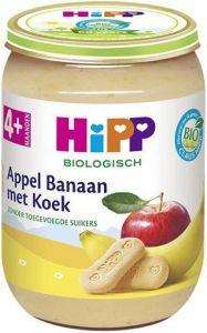 HIPP APPEL BANAAN MET KOEK 4+ MAANDEN POTJE 190 GRAM