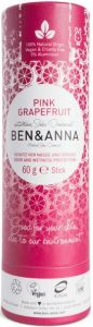 BEN & ANNA GRAPEFRUIT PUSH UP DEO STICK 60 GRAM