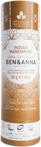 BEN & ANNA INDIAN MANDARINE PUSH UP DEO STICK 60 GRAM