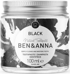 BEN & ANNA NATURAL TOOTHPASTE BLACK TANDPASTA POT 100 ML
