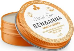 BEN & ANNA NATURAL DEODORANT VANILLA ORCHID DEO CREME BLIKJE 45 GRAM
