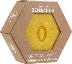 BEN & ANNA LOVE SOAP ORIENTAL MAGIC SHOWER & SHAMPOO BAR 60 GRAM