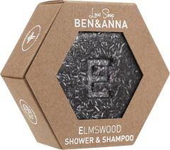 BEN & ANNA LOVE SOAP ELMSWOOD SHOWER & SHAMPOO BAR 60 GRAM