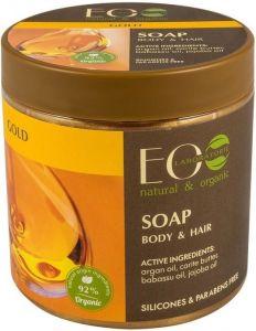 ECOLAB GOLD BODY & HAIR SOAP POT 450 ML