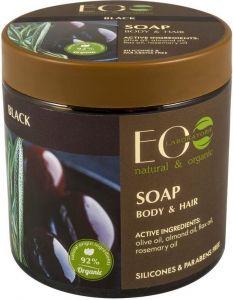 ECOLAB BLACK BODY & HAIR SOAP POT 450 ML