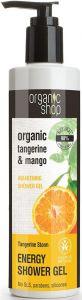 ORGANIC SHOP ORGANIC TANGERINE & MANGO ENERGY SHOWER GEL DOUCHEGEL POMP 280 ML