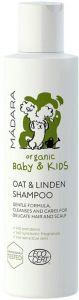 MADARA ORGANIC BABY & KIDS OAT & LINDEN SHAMPOO FLACON 200 ML