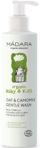 MADARA ORGANIC BABY & KIDS OAT & CAMOMILE GENTLE WASH DOUCHESCHUIM POMP 190 ML