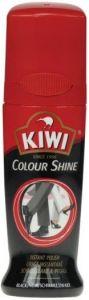 KIWI COLOUR SHINE ZELFGLANS ZWART FLACON 75 ML