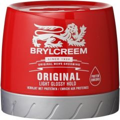 BRYLCREEM THE ORIGINAL HAIRDRESSING WAX POT 250 ML