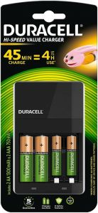 DURACELL RECHARGEABLE OPLADER 1 STUK