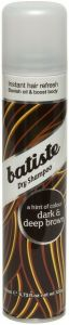BATISTE DRY SHAMPOO DARK & DEEP BROWN DROOGSHAMPOO SPRAY 200 ML