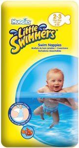 HUGGIES LITTLE SWIMMERS 2-3 3 KG-6 KG ZWEMLUIERS PAK 12 STUKS
