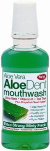 ALOEDENT ALOE VERA MOUTHWASH EXTRA STRONG MONDWATER FLACON 250 ML