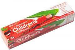 ALOEDENT COOL STRAWBERRY CHILDREN'S TOOTHPASTE TANDPASTA TUBE 50 ML