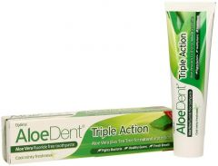 ALOEDENT TRIPLE ACTION TANDPASTA TUBE 100 ML
