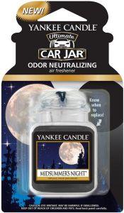 YANKEE CANDLE ULTIMATE CAR JAR MIDSUMMER'S NIGHT AUTO LUCHTVERFRISSER PAK 30 GRAM