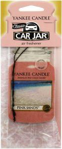 YANKEE CANDLE CLASSIC CAR JAR PINK SANDS AUTO LUCHTVERFRISSER PAK 10 GRAM