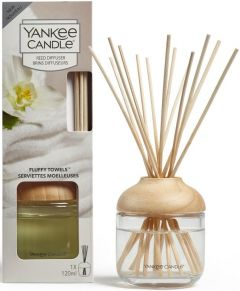 YANKEE CANDLE FLUFFY TOWELS DIFFUSER GEURSTOKJES PAK 120 ML
