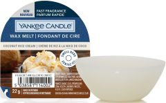 YANKEE CANDLE COCONUT RICE CREAM WAX MELT PAK 22 GRAM