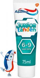 AQUAFRESH JUNIOR TANDEN 6-9 JAAR TANDPASTA TUBE 75 ML