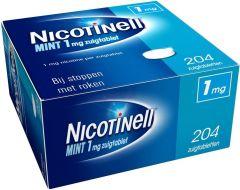 NICOTINELL MINT 1 MG ZUIGTABLET DOOSJE 204 STUKS