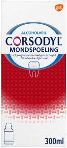 CORSODYL MONDSPOELING FLACON 300 ML