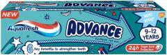 AQUAFRESH ADVANCE 9-12 JAAR TANDPASTA TUBE 75 ML