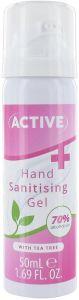 ACTIVE HAND SANITISING GEL HANDGEL POMP 50 ML