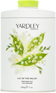 YARDLEY LILY OF THE VALLEY PERFUMED TALC TALKPOEDER BUS 200 GRAM