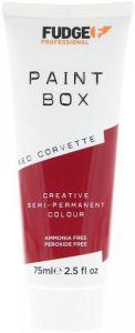 FUDGE PAINT BOX RED CORVETTE HAARKLEURING TUBE 75 ML