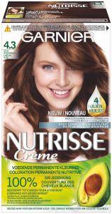 GARNIER NUTRISSE CRÈME 4.3 GOUD MIDDENBRUIN HAARVERF PAK 1 STUK