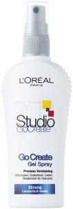 L'OREAL STUDIO LINE GO CREATE GEL SPRAY STRONG SPRAY 150 ML