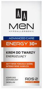 AA MEN ADVANCED CARE ENERGY 30+ GEZICHTSCREME POMP 50 ML