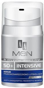 AA MEN ADVANCED CARE ENERGY 50+ FACE CREAM GEZICHTSCREME POMP 50 ML