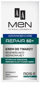 AA MEN ADVANCED CARE REPAIR 60+ REGENERATING FACE CREAM GEZICHTSCREME POMP 50 ML