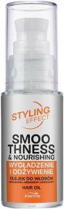 JOANNA STYLING EFFECT SMOOTHNESS & NOURISHING HAIR OIL HAAROLIE POMP 30 ML