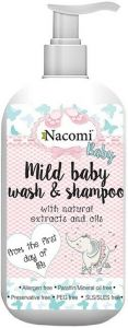NACOMI MILD BABY WASH & SHAMPOO POMP 400 ML